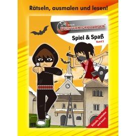 Geisterkickboarder Spiel & Spaß Büchlein: Rätseln, ausmalen und lesen, Band 3